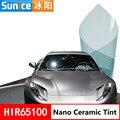 SUNICE 50x200 см  тонировка на окно автомобиля VLT 65%  синяя пленка для тонировки автомобиля  пленка для автомобиля  домашний стикер на стекло  Солне...