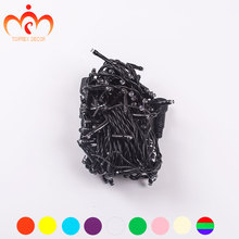 32.8ft PVC black LED string light garden decoration christmas garland light outdoor wedding decortive light party lights