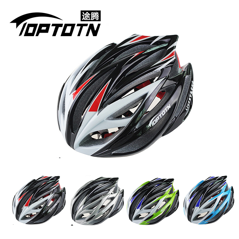 TOPTOTN T186 brand pro bicycle cycling font b helmet b font Ultralight and Integrally molded 21
