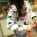 2016 Girls Spring Jacket Children's Jacket Baby Printing Fashion Spring Kids Clothes Girls Jacket For Girls Spring 2016 New