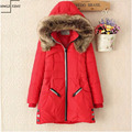 Winter Thicken Warm Fur Collar Long Down Parka Jackets for Women Parka Plus Size Parka Womens Hoodies Parkas for Women