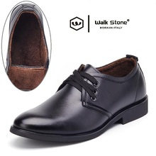 Winter Warm Comfortable Men's Patent Leather Fashion Oxford Men Pointed Toe Formal Wedding Shoes Male Flats Dress Shoe Footwear