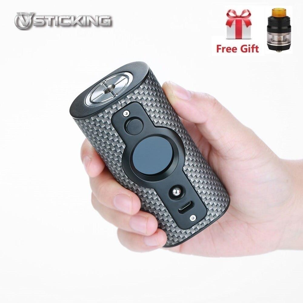 100% D'origine Vsticking VK530 Vaporisateur 200 W boîte de tc Mod Double 18650 Batterie Graffiti E Cig Vaporisateur vaporisateur VS Rader Mage et Luxe