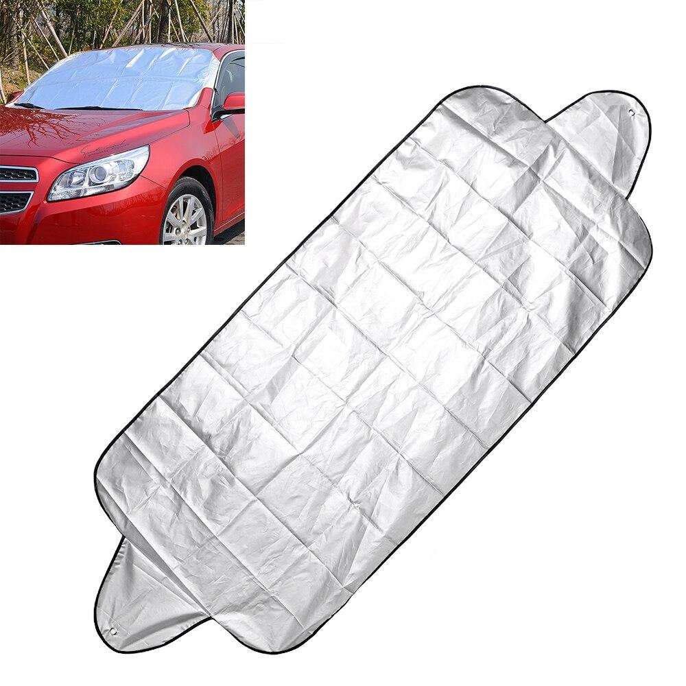Car Window Snow Cover