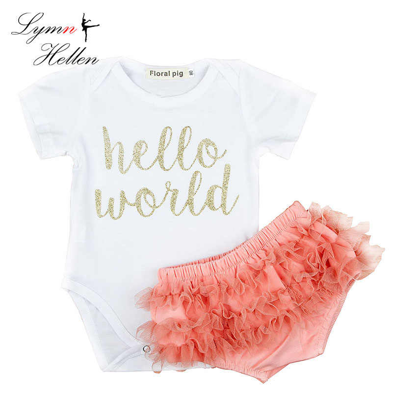 c209a940e3cc Detail Feedback Questions about Summer Baby Girls Clothes Set Two ...