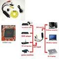 USB 2.0 Видео Easycap ТВ DVD Аудио USB 2.0 Видеоадаптер для Компьютера Для PS2/3, для Xbox 360, для Wii PC/Ноутбука