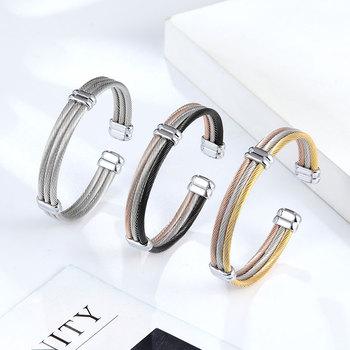 Cable Bracelet Cuff Bangle Bracelets Products under $30 8d255f28538fbae46aeae7: Styles 1|Styles 2|Styles 3|Styles 4