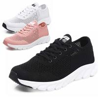Black Sneakers Women Summer Mesh Casual Shoe Tenis Feminino Woman Shoes Moda Mujer 2019 Brand Designer Shoes White Pink