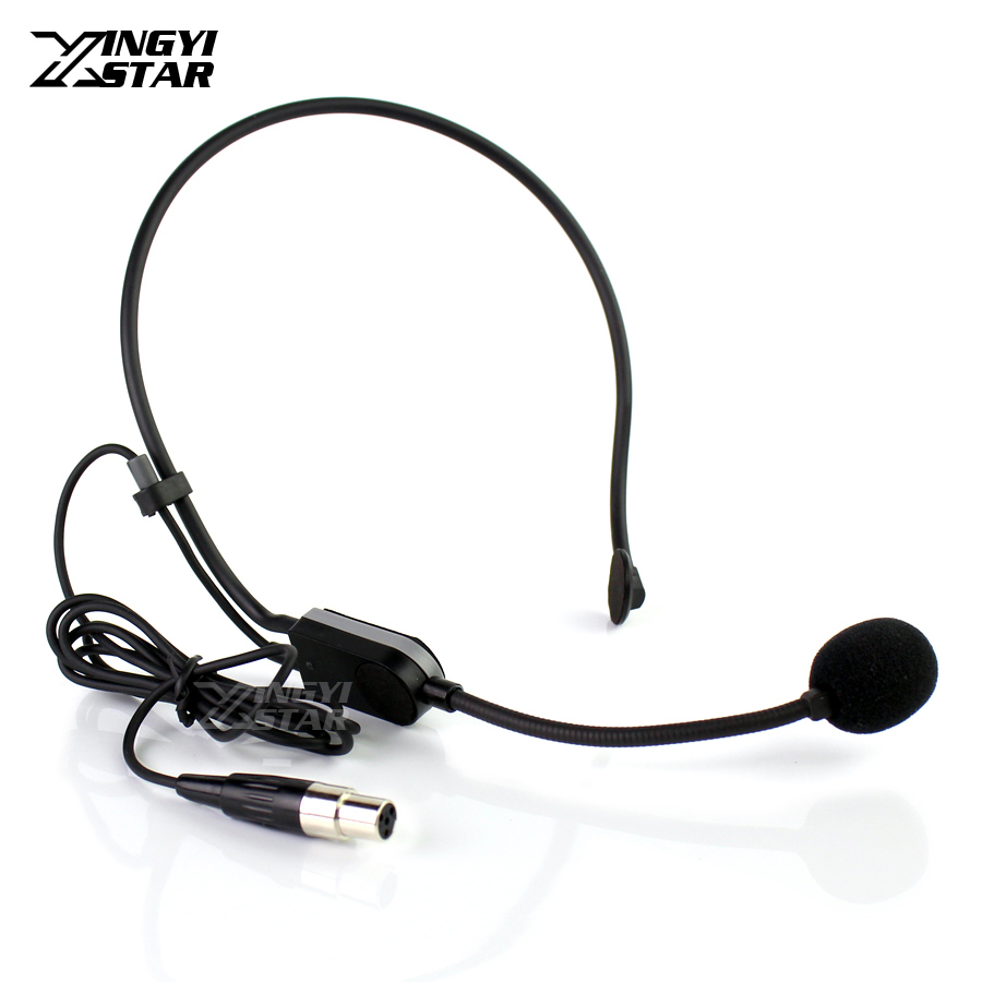 Live Equipment Top Quality Black Lapel Condenser Microphone Lavalier Microfone Conference For Shure Wireless Transmitter Xlr Mini 4pin Mikrofon Punctual Timing