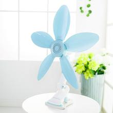 220v 5blades quiet lovely mini wall mounted clip fan for student