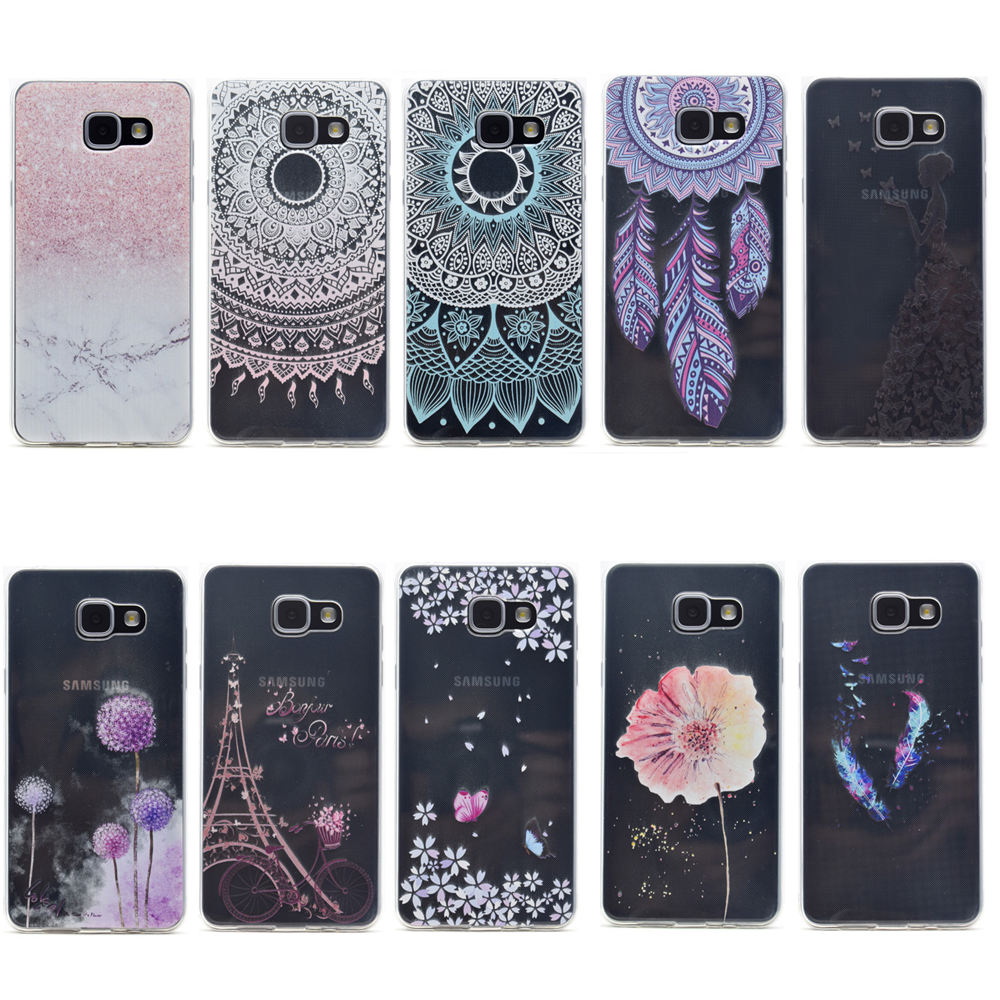 Transparent Phone Cases For Samsung Galaxy A5 2016 A510 Case Original Clear Cover Casing Silicone Fresh Slim Soft Back Butterfly Girl Fundas On Alibaba Group