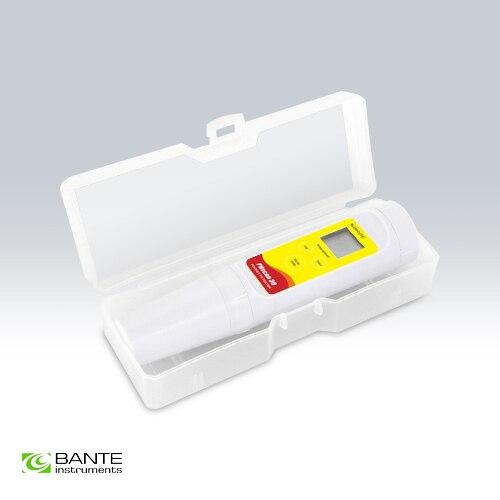 Véritable Marque de Poche Numérique pH température testeur Compteur Pen type Pâte Viande fromage crème sol et semi-solides Haute qualité