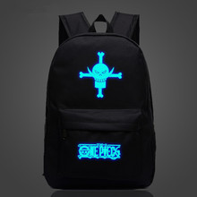 One Piece Printing School Bag Backpack