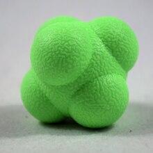 Outdoor Fun Hexagonal Ball Toy Sports Gym font b Fitness b font Hexagonal Reaction Ball Tennis