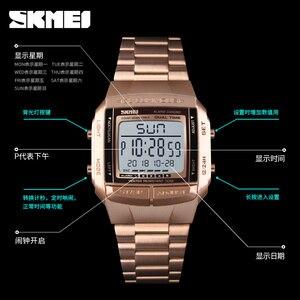 Image 4 - Brand SKMEI Sports Men Watches Waterproof Stopwatch G Countdown Mens Watch Shock Military Digital Wristwatch Relogio masculino
