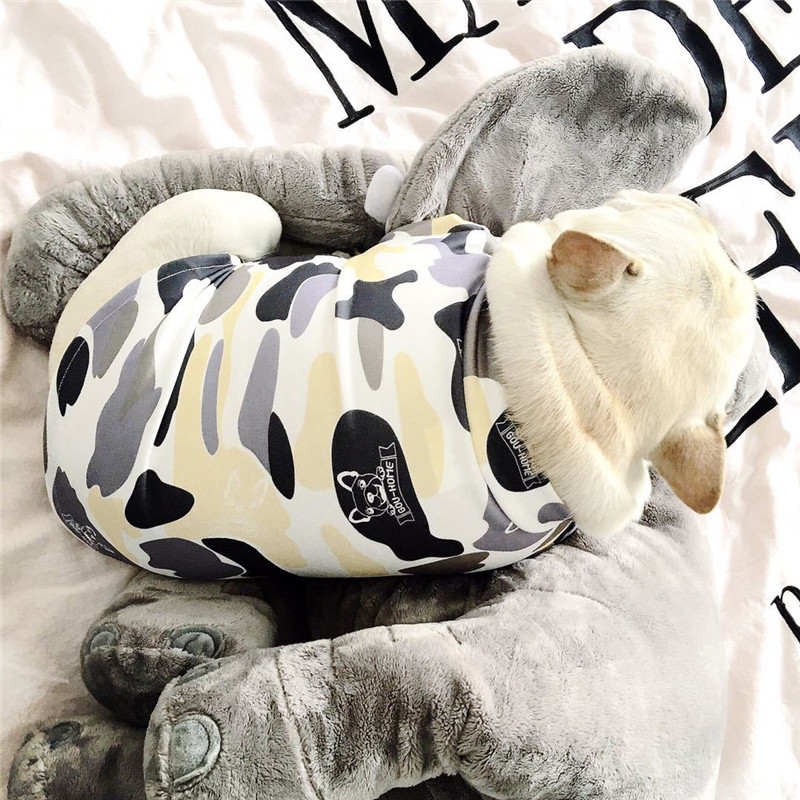 Traumdeutung Spring Summer Dogs Clothes French Bulldog Costume For Pets Clothes Vest Pug Clothing Dog abbigliamento cane chien