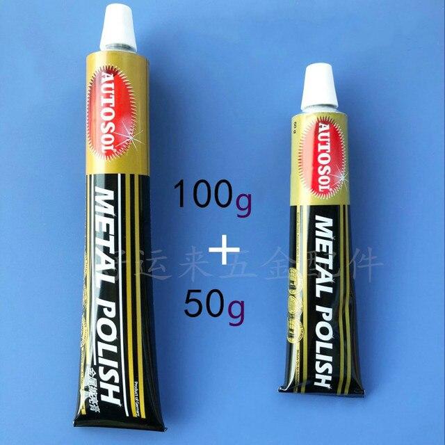 Importado de Alemania AUTOSOL pulido crema/pasta/50/100/metal pulido de crema