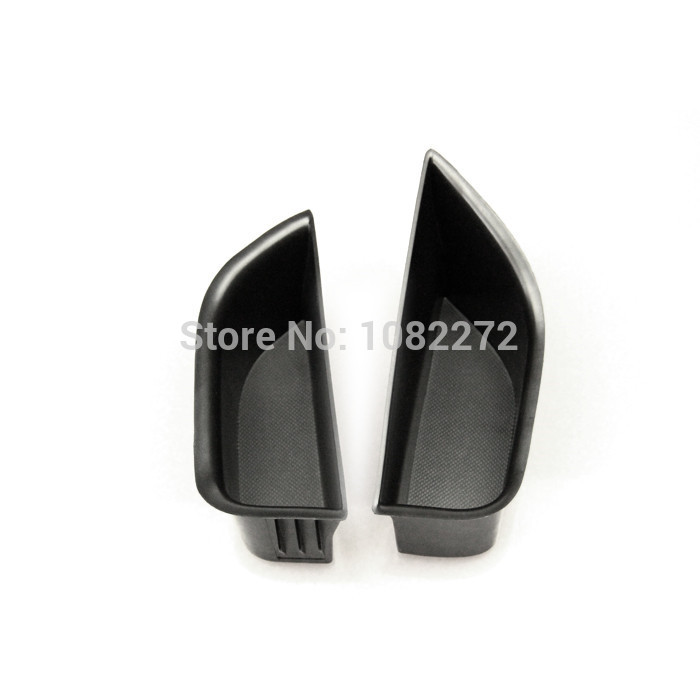 2pcs Car Front Door Container Armrest Storage Box Organizer Tray For Benz A180 A200 A220 A250 CDI / A45 W176 2013 2014