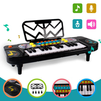 New Version 25 Keys Mini Electronic Keyboard Musical Children Piano Portable Plastic Kids Educational Electronic Learning toys