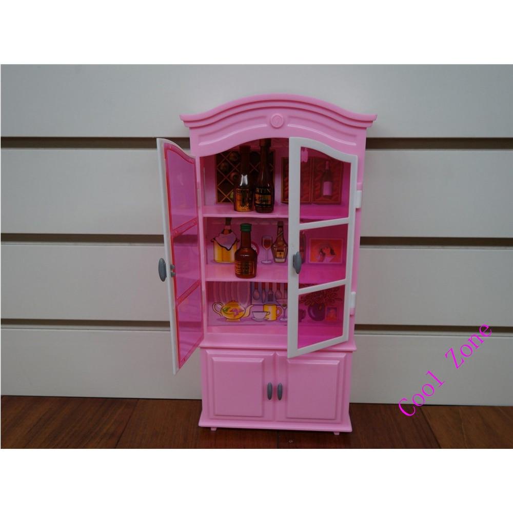 Miniatyr möbler Matsal-C för Barbie Doll House Pretend leksaker - Dockor och tillbehör - Foto 4