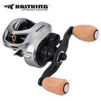 Bassinator Elite Baitcast Reel 6.6:1 or 8.1:1 Max Drag 8KG Saltwater Fishing Reel Bait Casting Reel With Fishing line Memory