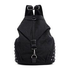 Ретро двойной сумки на плечо холст большой Ёмкость Летние путешествия Многофункциональный рюкзаки Портативный Женская Рюкзак Сумки