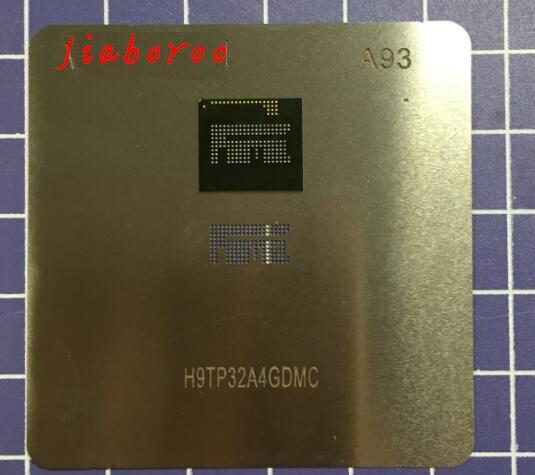 1pair/lot 1pcs eMMC H9TP32A8JDMC H9TP32A8JDMCPRKGM +1pcs BGA reballing reball stencil
