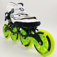MARCUS original speed skating shoes Adult male and female children professional ice skates Straight line speed rollerblading