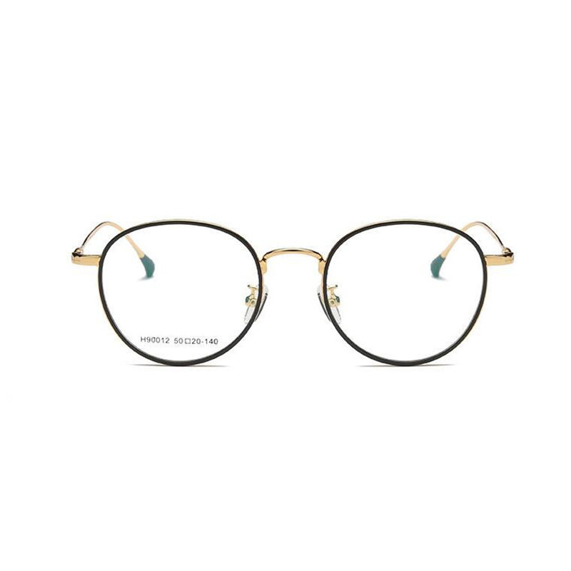 KESMALL Neue Legierung Brillen Rahmen Optische Brillen Männer Frauen ...
