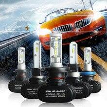 2pcs H7 Led H4 H11 H1 H3 9005 9006  Car LED Headlight Auto fog Lamp 50W 8000LM Automobile Bulb Chips CSP 6500K Car lighting