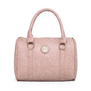 Image 3 - 여성 어머니 가방 5 조각 세트 럭셔리 핸드백 여성 가방 디자이너 가죽 어깨 가방 지갑과 핸드백 기울어 진 가방