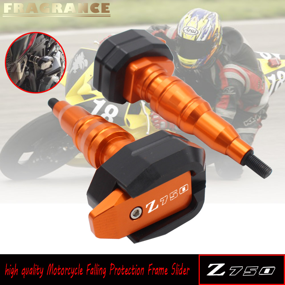 Frame Sliders Anti Crash Pad Engine Cover Protector Falling Protection Fairing Guard For KAWASAKI Z750 Z800 Z 800 2013 - 2016Frame Sliders Anti Crash Pad Engine Cover Protector Falling Protection Fairing Guard For KAWASAKI Z750 Z800 Z 800 2013 - 2016