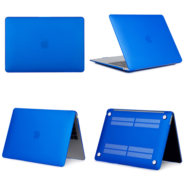 Blue Hard Case For Macbook Air & Pro 7
