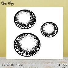 ZhuoAng  ST-772 transparent silicone stamp / DIY scrapbook photo album decorative seal