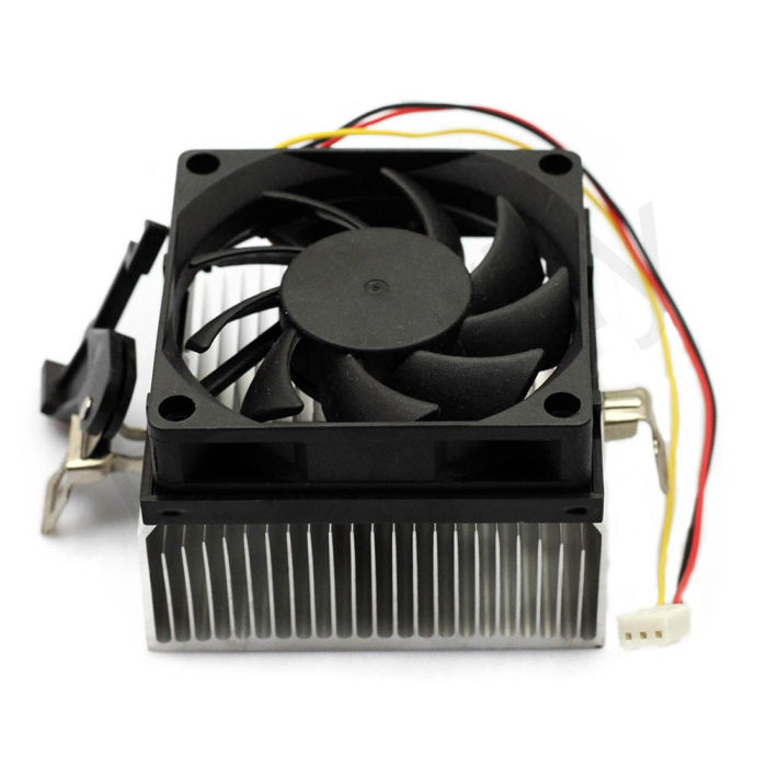 BLACK 3PIN 12V CPU COOL COOLING HEATSINK PC COOLER FAN SUPPORT AMD 1PC FS045#FS045 - ShenZhen MANNA HOME store