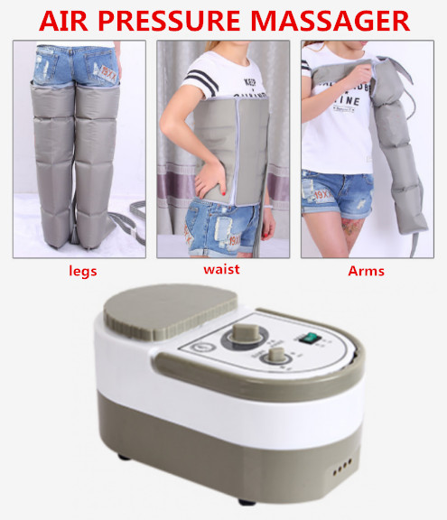 Air Pressure Massaging Machine Whole Body Massager Release Edema Varicosity Myophagism Body With Free Arm and Leg Sleeve electric air pressure leg arm waist massage machine whole body massager release promote blood circulation relieve pain fatigue