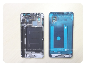 Novaphopat LCD Middle Housing Bezel Frame For Samsung Galaxy Note 3 N9005 LCD frame housing Replacement parts