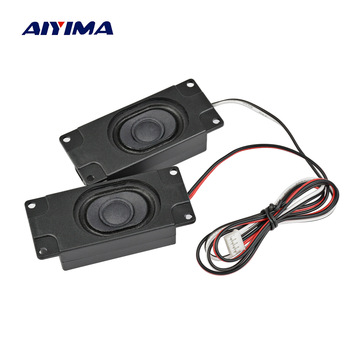 AIYIMA 2Pcs Audio Portable Speakers 3070 4Ohm 3W Computer Speaker Advertising LCD TV Speakers Loudspeaker Rectangle Speaker
