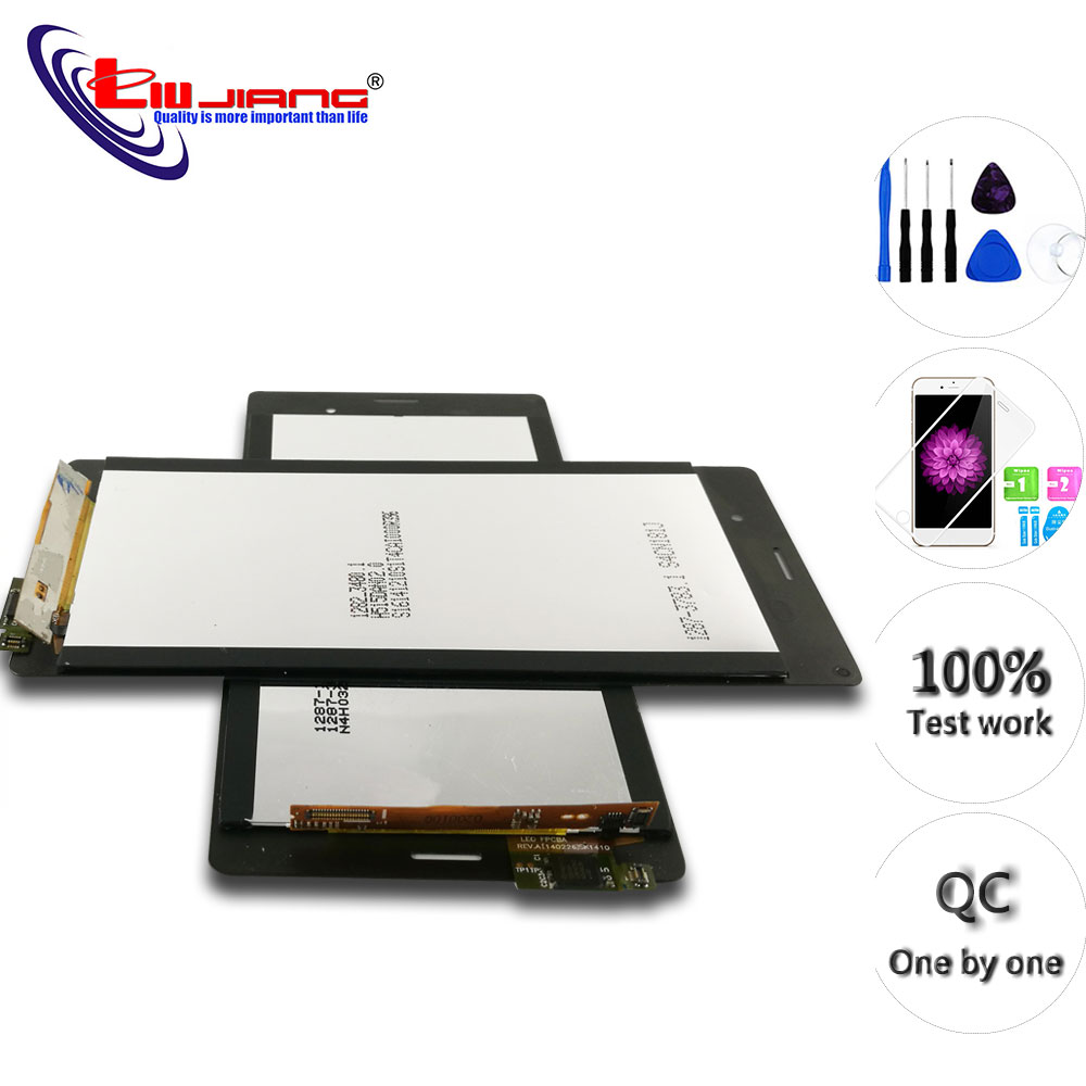 Original 5.2'' IPS LCD For <font><b>Sony</b></font> <font><b>Z3</b></font> L55T D6653 <font><b>Z3</b></font> Dual D6633 LCD Display Touch Screen Digitizer Replacement Repair Parts image