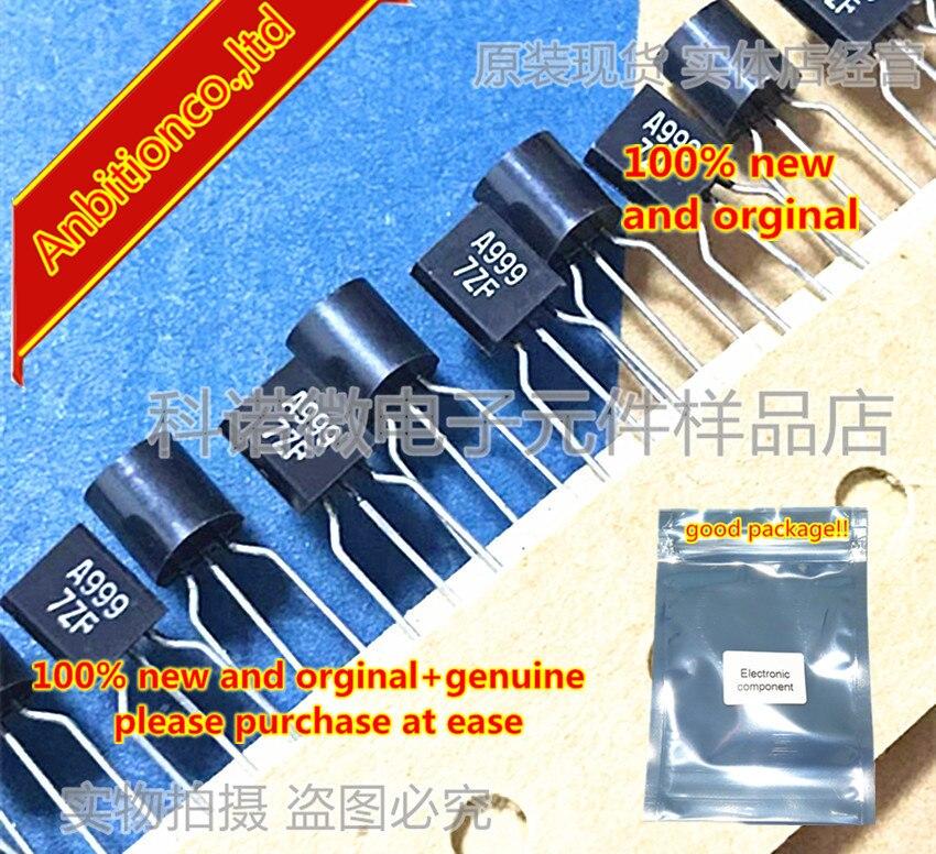 10pcs 100% New And Orginal 2SA999 A999 TO-92 In Stock