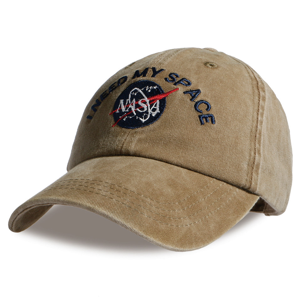 Fashion Heren Baseball Cap Merk NASA I Need My Space Snapbacs