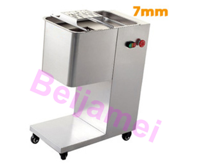 Electric Slicers Beijamei Commercial Electric Meat Cutting Machine Desktop Multifunctional Beef Mutton Meat Slicer Fish Cutter