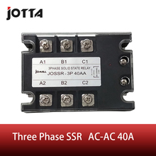 40A AC control AC SSR three phase Solid state relay куртка кожаная escada sport escada sport es006ewdrxu2