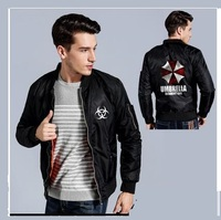High Q new fashion Resident Evil prints Hoodies man women slim couple outfit casual clothes