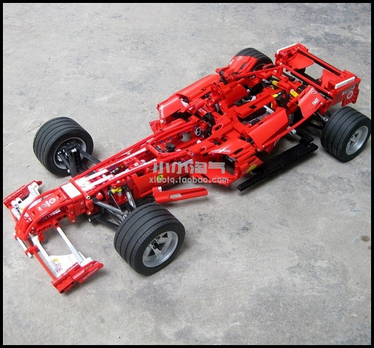 1242pcs 1:8 F1 Formula Racing Car Model Building Blocks Bricks Set Educational Toy Children Gift Lepin Technic