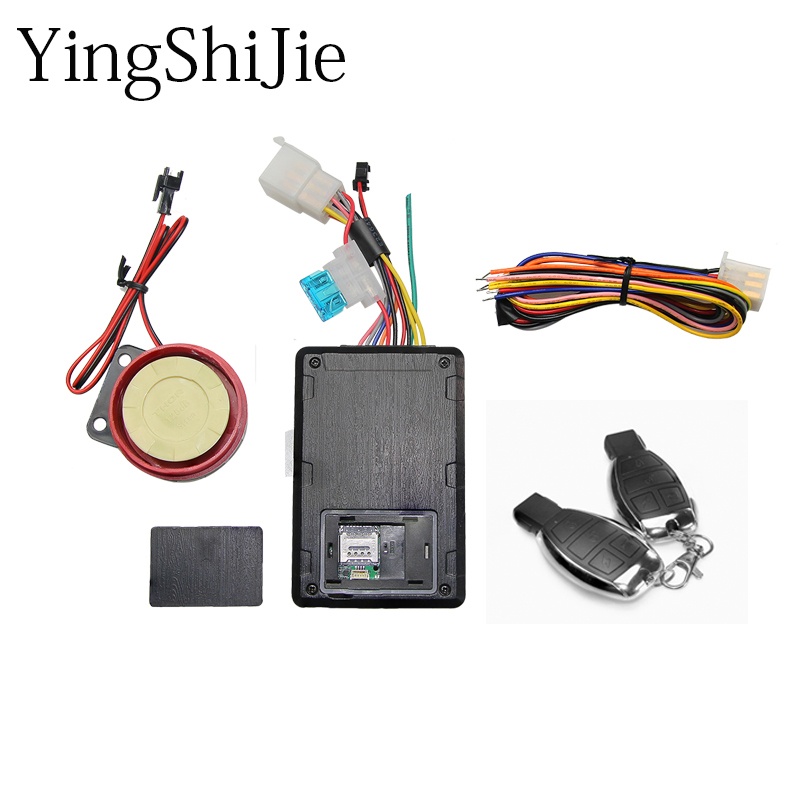 Gps-Tracker Motorcycle Ignition Anti-Theft-Devices Cars-System-App Intelligent DC Search