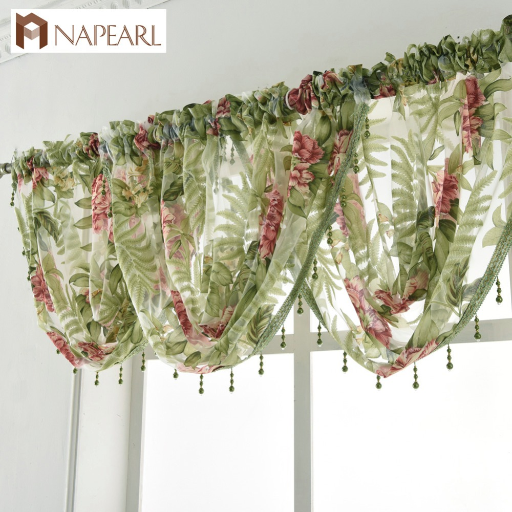 sheer trim pinstripe lace zoom with heritage valance panel products chelsea macrame