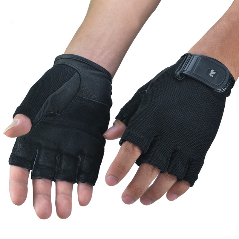 Weight Lifting Crossfit <font><b>Gym</b></font> <font><b>Gloves</b></font> for men and women fitness exercise equipment sports <font><b>gloves</b></font> half finger slip weightlifting