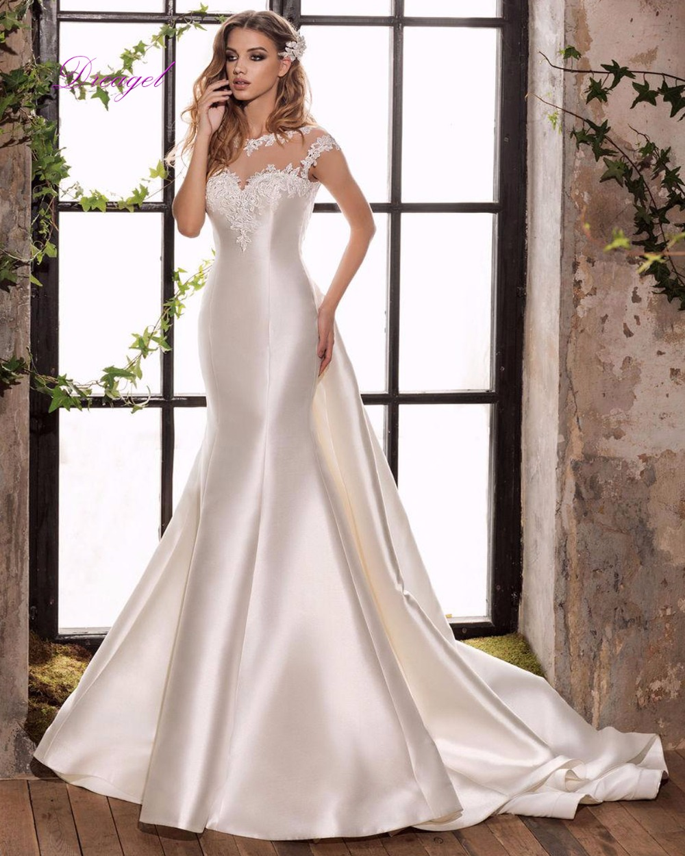 Detachable Trains For Wedding Gowns: Popular Detachable Wedding Dress Train-Buy Cheap