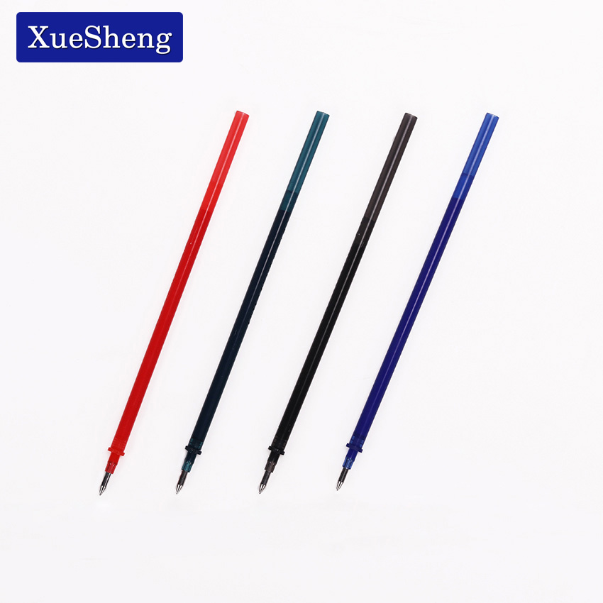 20 PCS/Lot Magic Erasable Pen Refill 0.5mm Blue Black Red Ink Gel Pen Refill For Writing Stationery Office School Supplies